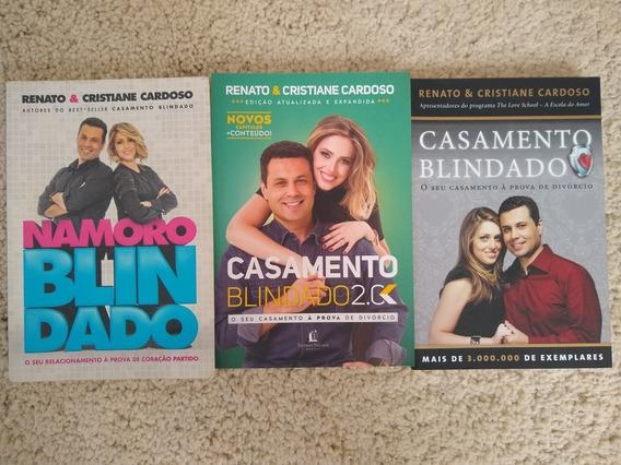 Kit C/03 Livros. Namoro Blindado, Casamento Blindado E 2.0k!