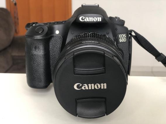 Canon Eos 60d + Lente 18-135