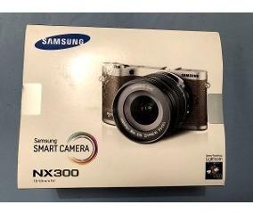Máquina Fotográfica Sansung Nx 300 3d Com Wi Fi