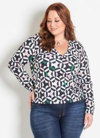 16a0bf96c Marguerite Plus Size - Camisetas e Blusas com o Melhores Preços no ...