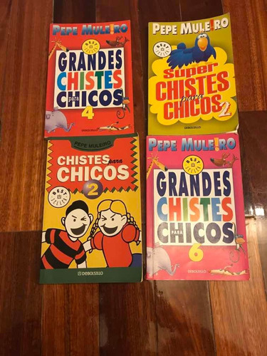 Pepe Muleiro Grandes Chistes Para Chicos Lote De 4 Libros