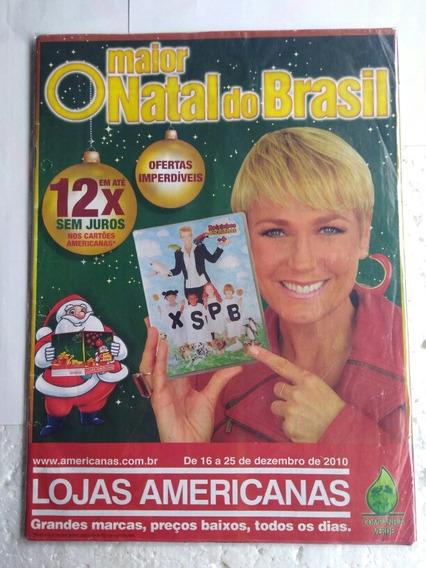 Revista Da Xuxa Propaganda Antiga