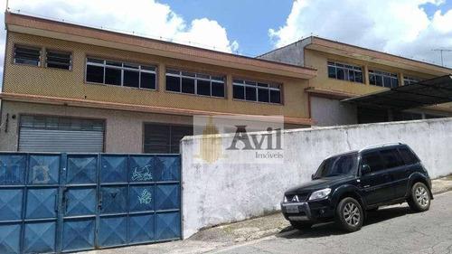 Galpão Para Alugar, 500 M² Por R$ 10.000/mês - Vila Regente Feijó - São Paulo/sp - Ga0086