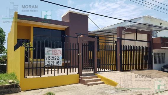 Amplia Casa En Renta, Colonia Prócoro Alor, Coatzacoalcos, Ver.