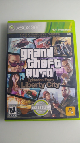 Gta Episodes From Liberty City Xbox 360 Lenny Star Games