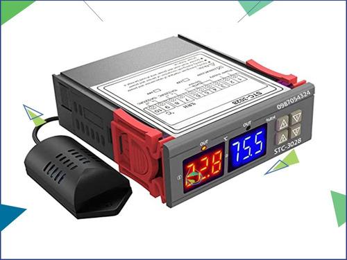Controlador Humdad Temperatur Termostato Incubadora Stc-3028