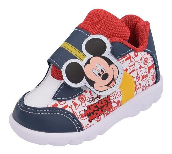 Tênis Bebê Infantil Mickey Disney Menino Promoção Barato