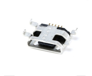 Kit 10 Conectores Carga Micro Usb V8 Positivo Ypy -072