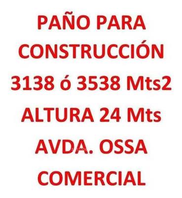 Paño Construcción Ossa Uf85 Mt2 Terreno 3138-3538 Mts2