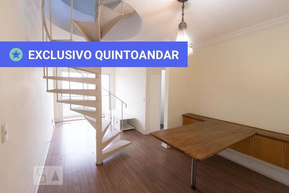 Apartamento No 14º Andar Com 2 Dormitórios E 1 Garagem - Id: 892980947 - 280947