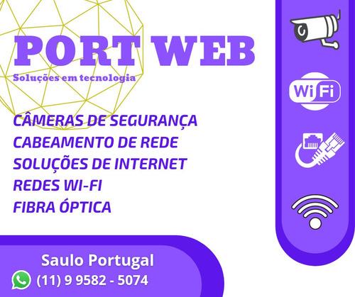Imagem 1 de 5 de Cabo De Rede, Wi-fi, Fibra Óptica, Câmeras De Segurança Cftv