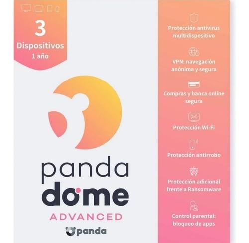Imagen 1 de 4 de Panda Dome Advanced 3 Dispositivos 1 Año