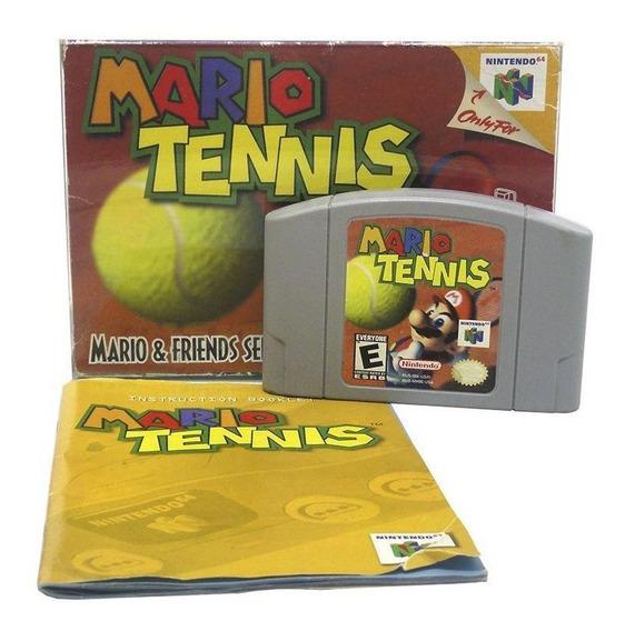 Mario Tennis N64 Mídia Física Pronta Entrega