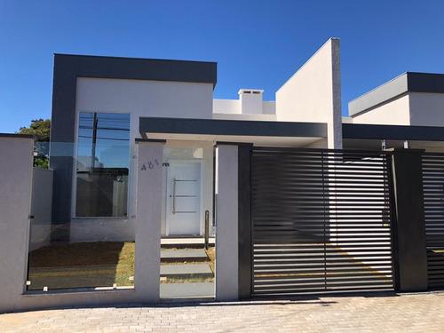 Imagem 1 de 18 de Casa Com 3 Dormitórios À Venda, 130 M² Por R$ 487.000,00 - Loteamento Bourbon - Foz Do Iguaçu/pr - Ca0529