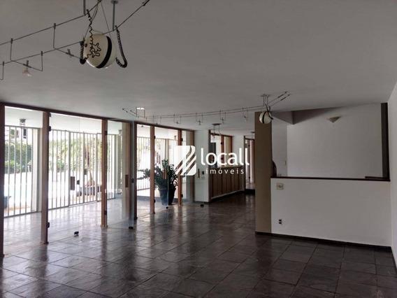 Casa Com 4 Dormitórios Para Alugar, 900 M² Por R$ 4.500/mês - Jardim Aclimação - São José Do Rio Preto/sp - Ca1857