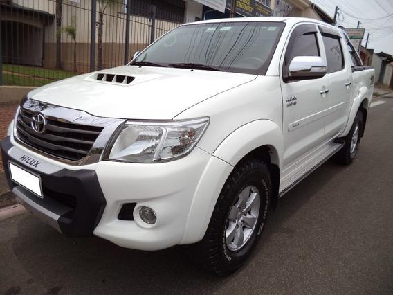 Toyota Hilux 3.0 Srv 4x4 16v Diesel 2013 Branco.