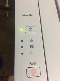 Impressora Canon Pixma Mg2410 Com Cartuchos (defeito)
