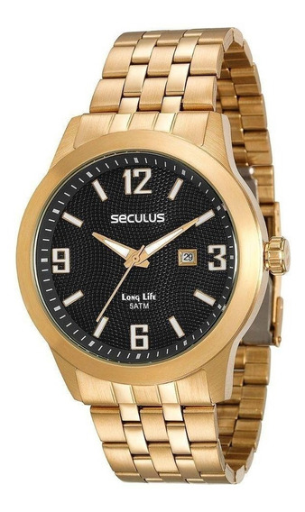 Relógio Seculus Masculino - Promoção 50% - Mod 20362gpsvda1