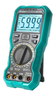 Multimetro Digital Tester 3-5/6 True Rms Proskit Mt-1706 Cuo