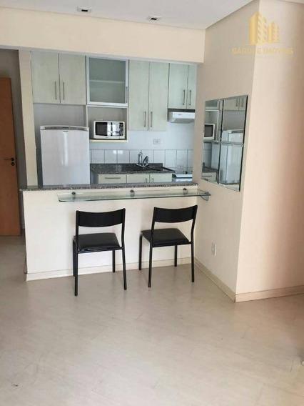 Apartamento Com 1 Dormitório Para Alugar Ou Vender, 42 M² Por R$ 1.000,00/mês - Vila Adyana - São José Dos Campos/sp - Ap0933