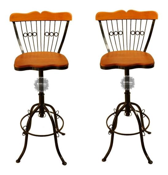 Cadeira Retrô 2 Unidades Regulável Oferta Especial Imperdíve