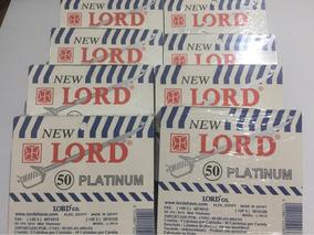 Lâmina Lord Platinum/ Kit Com 10 Cartelas