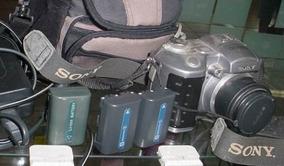Sony Mavica Mvc Cd400 / Bolsa, 3 Baterias, Completa...