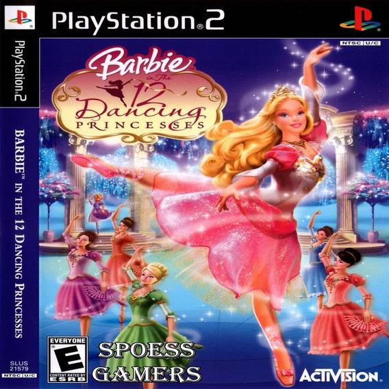 Barbie In The 12 Dancing Princesses Ps2 Desbloqueado Patchs