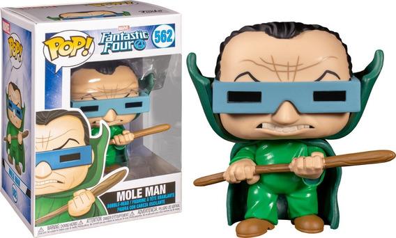Pop! Marvel Fantastic Four- Mole Man ## 562