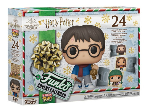 Funko Pop Pocket Calendário Advent Harry Potter 24 Pockets