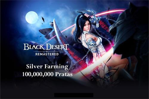 Black Desert Silver Farming