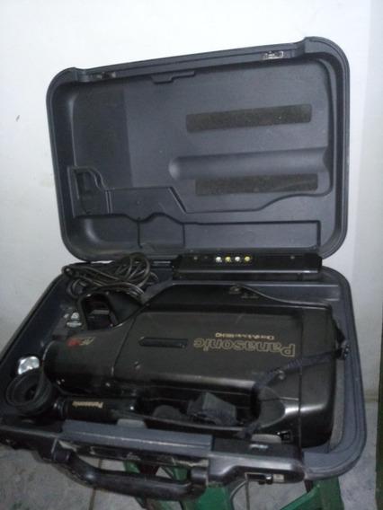 Filmadora Antiga Relíquia Panasonic Completa