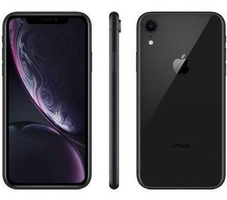 iPhone Xr 64gb Preto Tela 6.1 Ios 12 4g 12mp Anatel Lacrado
