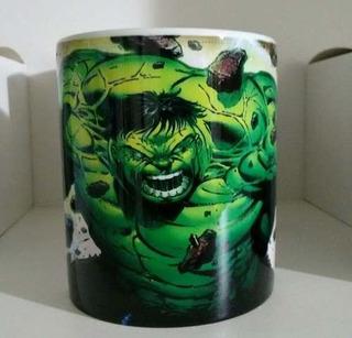 Caneca De Cerâmica Hulk Marvel Comics Hq