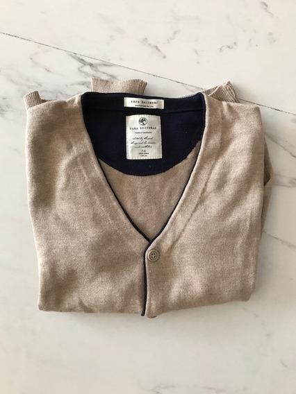 Zara Sweater Talle 7-8 Años Camel