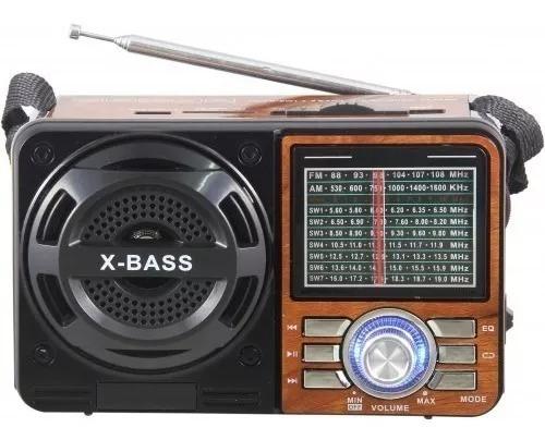 Rádio Portátil Mp3 Usb Sd Pen Drive Am/fm M:108