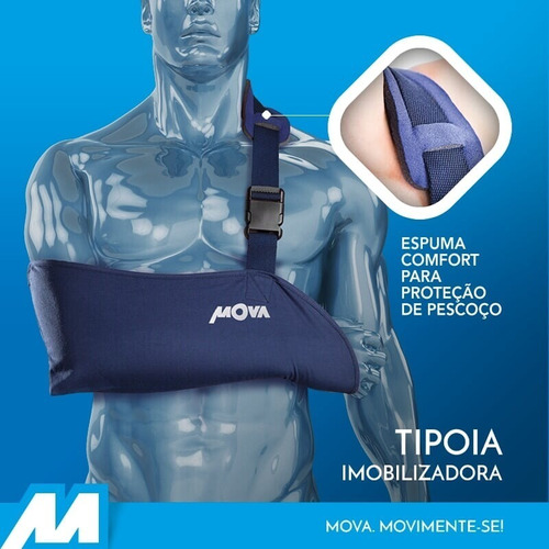 Tipóia Imobilizadora Unilateral  Tam - P  Mova Ortopédicos
