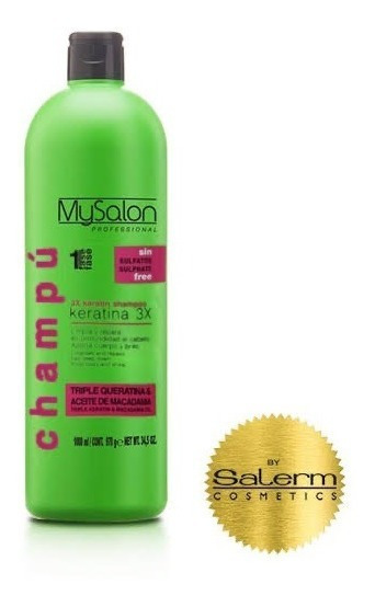 Salerm Mysalon Shampoo Triple Keratina Y 500ml