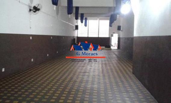 Salão / Galpão / Sala Comercial Para Locação Com 420 M² - Campos Elíseos - 168xl
