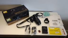 Nikon D 3200 + Lente Original 18 - 55 Mm Seminova