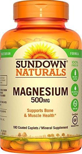 Suplemento Magnesio 500 Mg 180 Cápsulas
