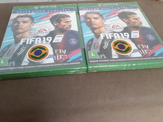 Fifa 19 Edição Dos Campeões Xbox One Mídia Física Novo