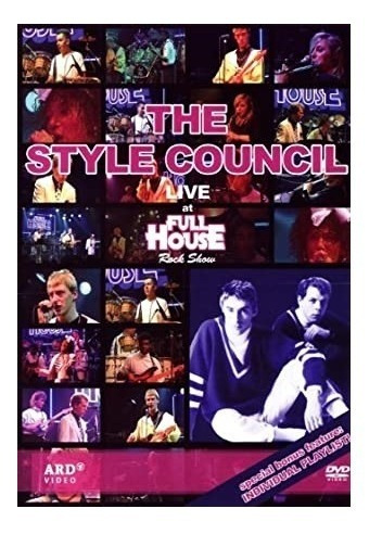 The Style Council - Live At Full House - Dvd - Importado!!!