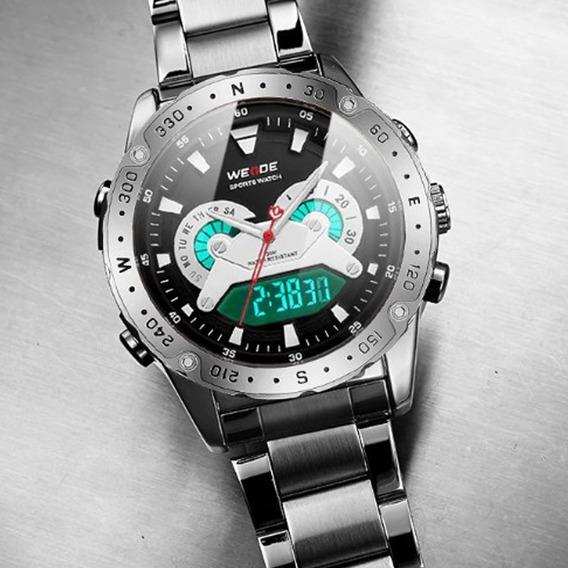 Relógio Masculino Weide 8501 Esporte Casual Quartzo Digital