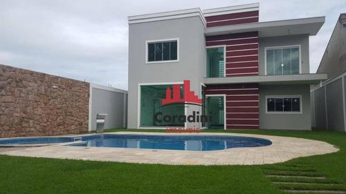 Chácara Com 3 Dormitórios À Venda, 600 M² Por R$ 1.200.000,00 - Praia Dos Namorados - Americana/sp - Ch0083