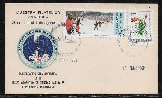 Antártida Argentina Apertura Sala Antártica Sobre Año 1981