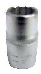 Dado 1/2 Boca Estrella 15mm Cromo 256-015