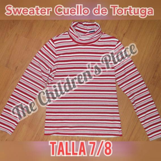 Blusa Cuello Alto Childrens Place Para Niñas 7/8 Como Nuevo