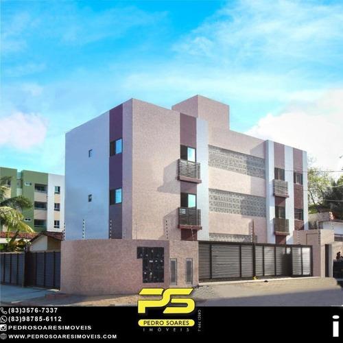 Imagem 1 de 14 de Apartamento Com 2 Dormitórios À Venda, 50 M² Por R$ 195.000 - Bancários - João Pessoa/pb - Ap4873