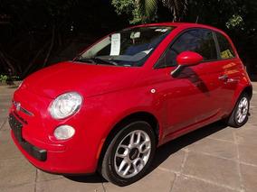 Fiat 500 Cult 2012 Vermelho Flex